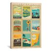 iCanvas 'Australia' by Anderson Design Group Vintage Advertisement on Canvas