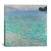 """iCanvas """"Attersee (Lake Attersee)"""" by Gustav Klimt Wall Art on Canvas"""