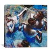 iCanvas 'Blue Dancers 1899' by Edgar Degas Painting Print on Canvas