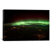 iCanvasArt Astronomy and Space Aurora Borealis Graphic Art on Canvas