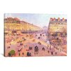 iCanvasArt 'Avenue de L'Opera'  by Camille Pissarro Painting Print on Canvas