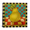"iCanvas ""Be Bop a Lula Pear ""Canvas Wall Art by Shelly Bedsaul"