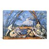 <strong>iCanvasArt</strong> 'Bathers 2' by Paul Cezanne Painting Print on Canvas