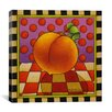 "iCanvas ""Be Bop a Lula Peach"" Canvas Wall Art by Shelly Bedsaul"