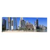 <strong>iCanvasArt</strong> Panoramic Ohio Street Beach, Chicago, Illinois Photographic Print on Canvas