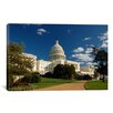 iCanvasArt Political Capitol Building Photographic Print on Canvas