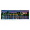 iCanvas Panoramic Buildings at the Waterfront Philadelphia, Pennsylvania 2011 Photographic Print on Canvas