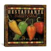 "iCanvasArt ""Cantina"" Canvas Wall Art by Daphne Brissonnet"