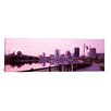 iCanvas Panoramic Buildings at the Waterfront, Genesee, Rochester, Monroe County, New York State Photographic Print on Canvas