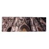 iCanvas Panoramic Architectural Detail of a Cathedral, Cologne Cathedral, Cologne, North Rhine Westphalia, Germany Photographic Print on Canvas