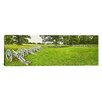 iCanvas Panoramic Cannons in a Park, Valley Forge National Historic Park, Philadelphia, Pennsylvania, USA Photographic Print on Canvas