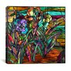 "<strong>iCanvasArt</strong> ""Candy Coated Irises"" Canvas Wall Art by Mindy Sommers"
