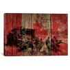 iCanvasArt Canadian Military Army #2 Graphic Art on Canvas