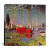 "iCanvas ""Argenteuil"" Canvas Wall Art by Claude Monet"