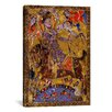 <strong>Islamic Arabic Poetry Islam Painting Print on Canvas</strong> by iCanvasArt