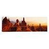 iCanvas Panoramic Borobudur Buddhist Temple Java Indonesia Photographic Print on Canvas
