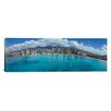 iCanvas Panoramic Buildings at the Waterfront, Honolulu, Oahu, Hawaii, 2007 Photographic Print on Canvas