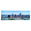 iCanvas Panoramic Buildings at the Waterfront Monongahela River, Pittsburgh, Pennsylvania Photographic Print on Canvas