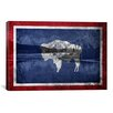iCanvas Wyoming Flag, Grand Teton Nationl Park Graphic Art on Canvas