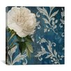 "iCanvas ""Anastasia (White Flower)"" Canvas Wall Art by Color Bakery"