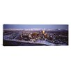 iCanvasArt Panoramic Anchorage at the Base of Chugach Mtns AK Photographic Print on Canvas