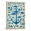 iCanvas 'Anchors Aweigh!' by Anderson Design Group Graphic Art on Canvas