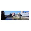 iCanvas Panoramic Buildings at the Waterfront, Genesee River, Rochester, Monroe County, 2011 Photographic Print on Canvas