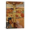 iCanvas 'Yellow Christ (Jesus)' by Paul Gauguin Painting Print on Canvas