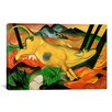 iCanvasArt 'Yellow Cow' by Franz Marc Painting Print on Canvas