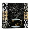 "<strong>iCanvasArt</strong> ""Cafe Noir"" Canvas Wall Art by Color Bakery"
