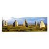 <strong>iCanvasArt</strong> Panoramic Callanish Stones, Isle Of Lewis, Outer Hebrides, Scotland, United Kingdom Photographic Print on Canvas