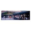 iCanvas Panoramic Cafe Du Monde French Quarter New Orleans Photographic Print on Canvas