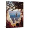 iCanvas 'Chalk Cliffs of Rugen, 1818' by Caspar David Friedrich Painting Print on Canvas
