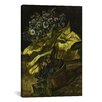 iCanvasArt 'Cineraria in a Flowerpot' by Vincent van Gogh Painting Print on Canvas