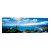 iCanvas Panoramic City at the Coast, Palos Verdes Peninsula, Palos Verdes, Los Angeles County, California Photographic Print on Canvas