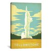 <strong>'Yellowstone National Park' by Anderson Design Group Vintage Advert...</strong> by iCanvasArt
