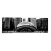 iCanvas Chicago Panoramic Skyline Cityscape (Bean) Photographic Print on Canvas