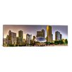 iCanvas Chicago Panoramic Skyline Cityscape (Sunset) Photographic Print on Canvas