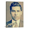 iCanvasArt Charlie 'Lucky' Luciano - Gangster Mugshot Photographic Print on Canvas