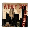 iCanvas Chicago Skyline III from Sparx Studio Canvas Wall Art