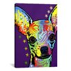 <strong>iCanvasArt</strong> 'Chihuahua ll' by Dean Russo Graphic Art on Canvas