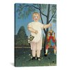 iCanvas 'Child with a Puppet (Zur Feier des Kindes) 1903' by Henri Rousseau Painting Print on Canvas