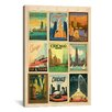 iCanvasArt 'Chicago' by Anderson Design Group Vintage Advertisement on Canvas