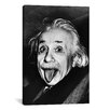 iCanvas Albert Einstein, Sticking His Tongue Out Print on Canvas