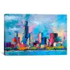 <strong>'Chicago 5' by Richard Wallich Painting Print on Canvas</strong> by iCanvasArt