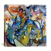 "<strong>iCanvasArt</strong> ""All Saints Day II"" Canvas Wall Art by Wassily Kandinsky Prints"