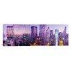iCanvas Panoramic Chicago IL Photographic Print on Canvas