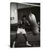 <strong>iCanvasArt</strong> Muhammad Ali Training Photographic Print on Canvas