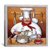 "iCanvas ""Chef 4"" Canvas Wall Art by John Zaccheo"