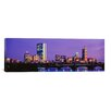 iCanvasArt Panoramic Longfellow Bridge, Boston, Suffolk County, Massachusetts Photographic Print on Canvas